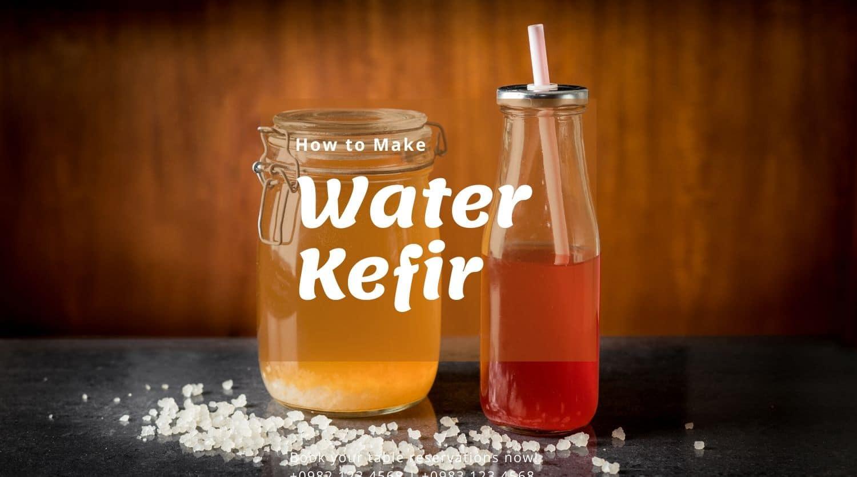 hwo to make water kefir