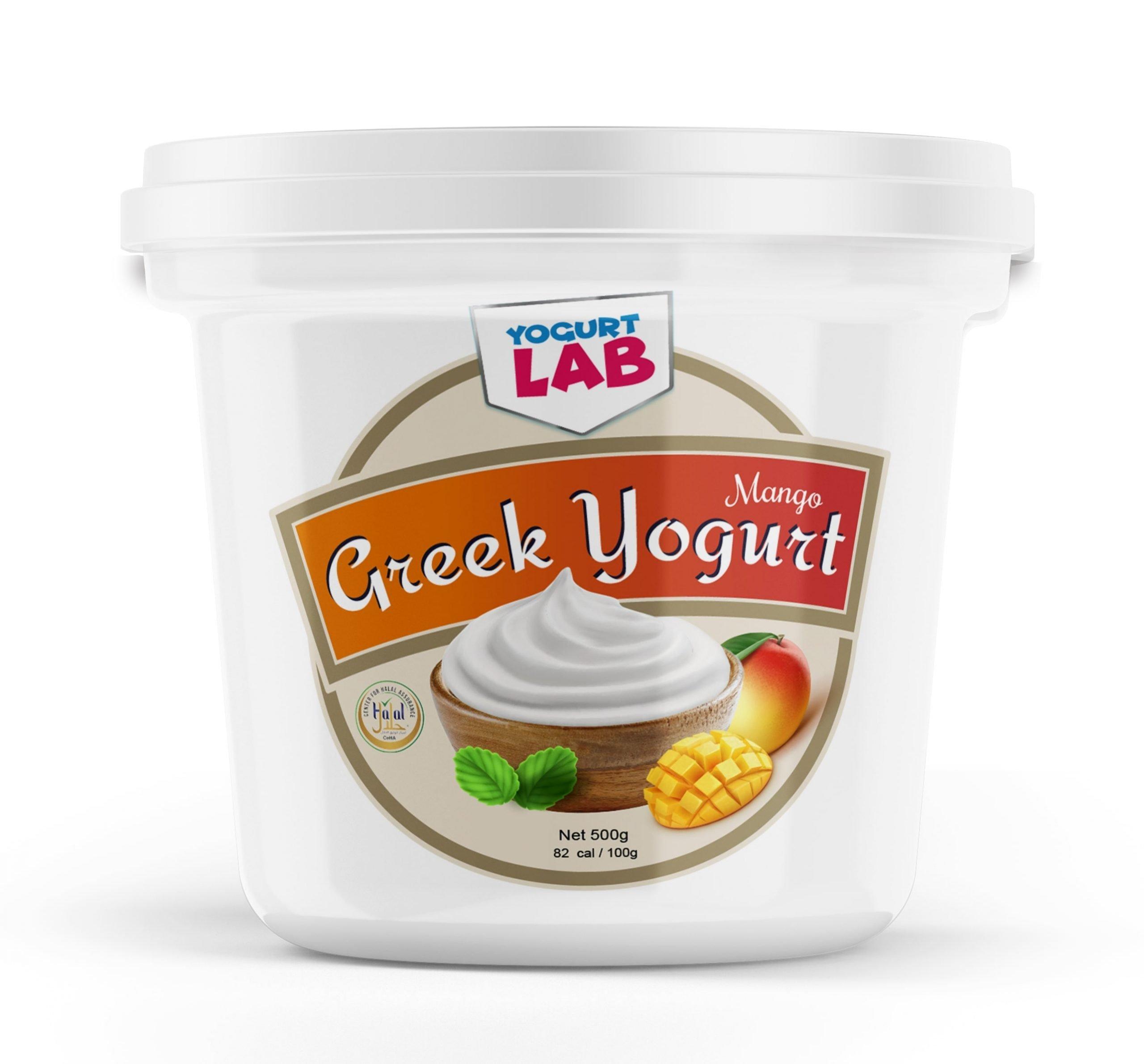 greek yoghurt mango